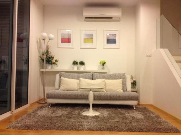 For rent condo Villa Rachatewi Duplex Garden view