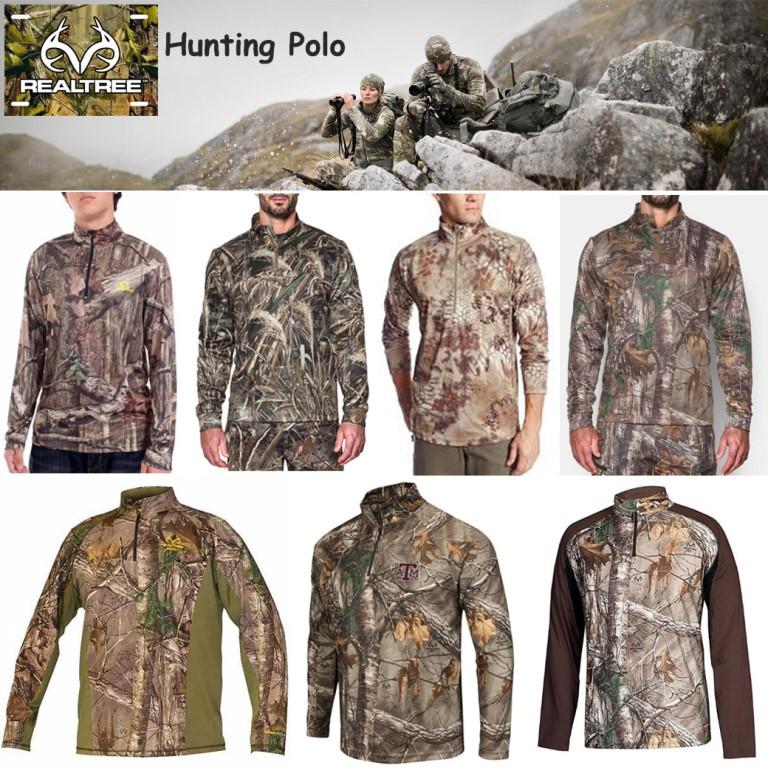 Realtree Hunting Polo