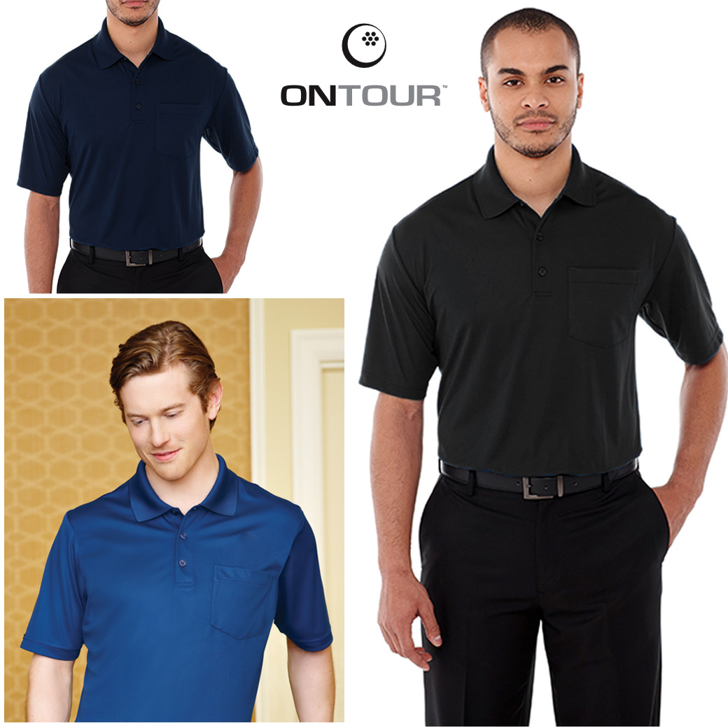 ONTOUR MEN'S PICO POLO