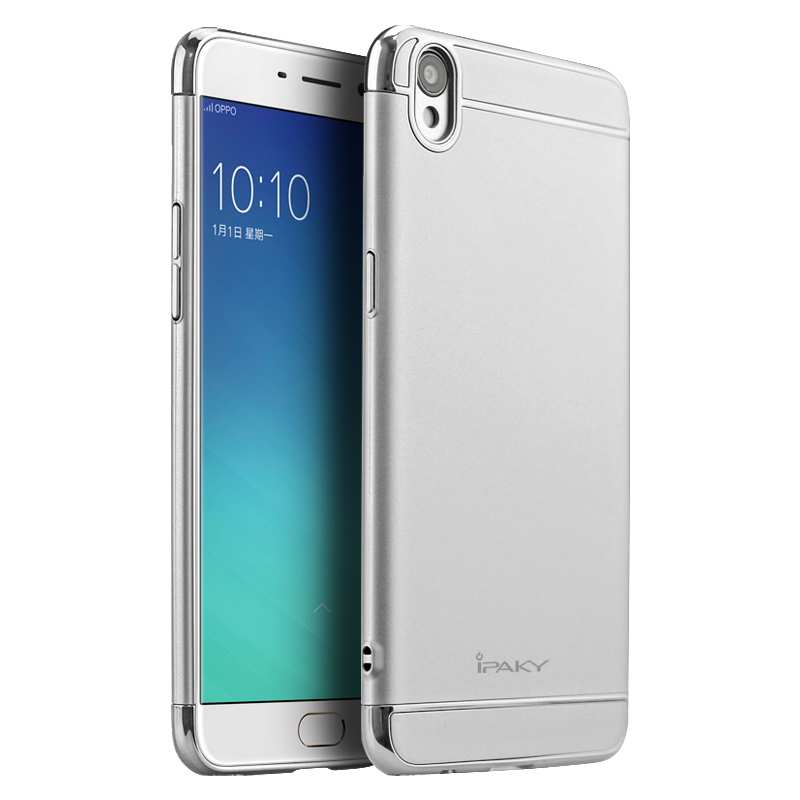 IPAKY CASE สำหรับ Oppo R9 ( Silver )