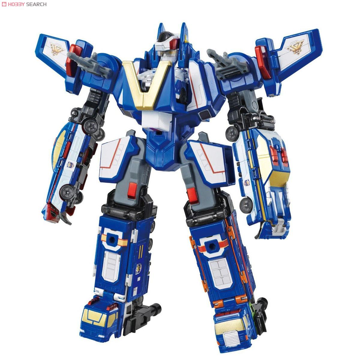 Patrol Gattai ! VooV Guardian Robot ชุดหุ่น Guardian รวมเซท