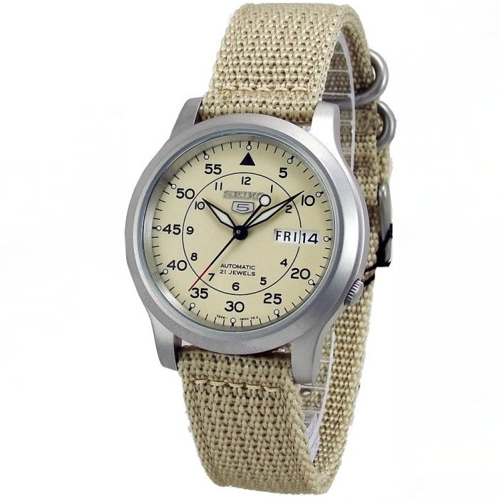 Seiko SNK803K2 Seiko 5 Military Automatic Mens Watch