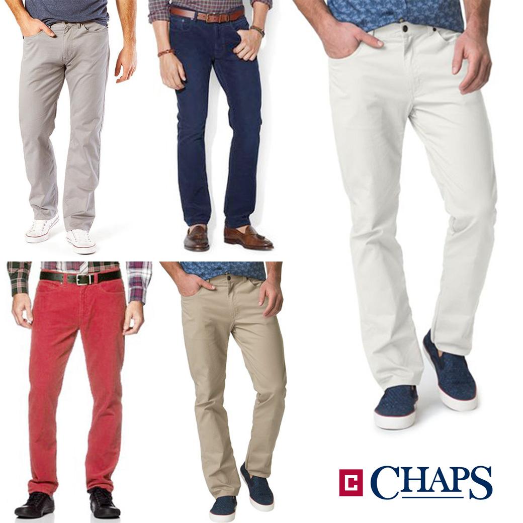 CHAPS Stretch 5 Pocket Pant