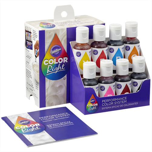 Wilton Color Right 8 of set 152 ml.