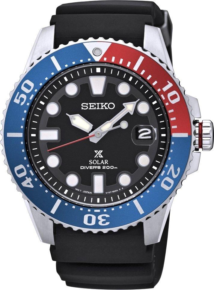 นาฬิกาผู้ชาย Seiko Prospex Solar 200m Divers รุ่น SNE439P1 (New Model 2017)