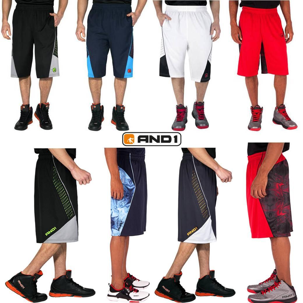 AND 1 - Big Game & Enforcer shorts