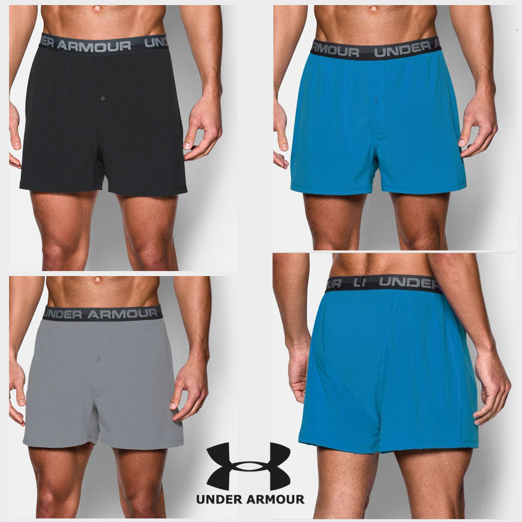 UNDER ARMOUR VENT SERIES BOXER SHORTS
