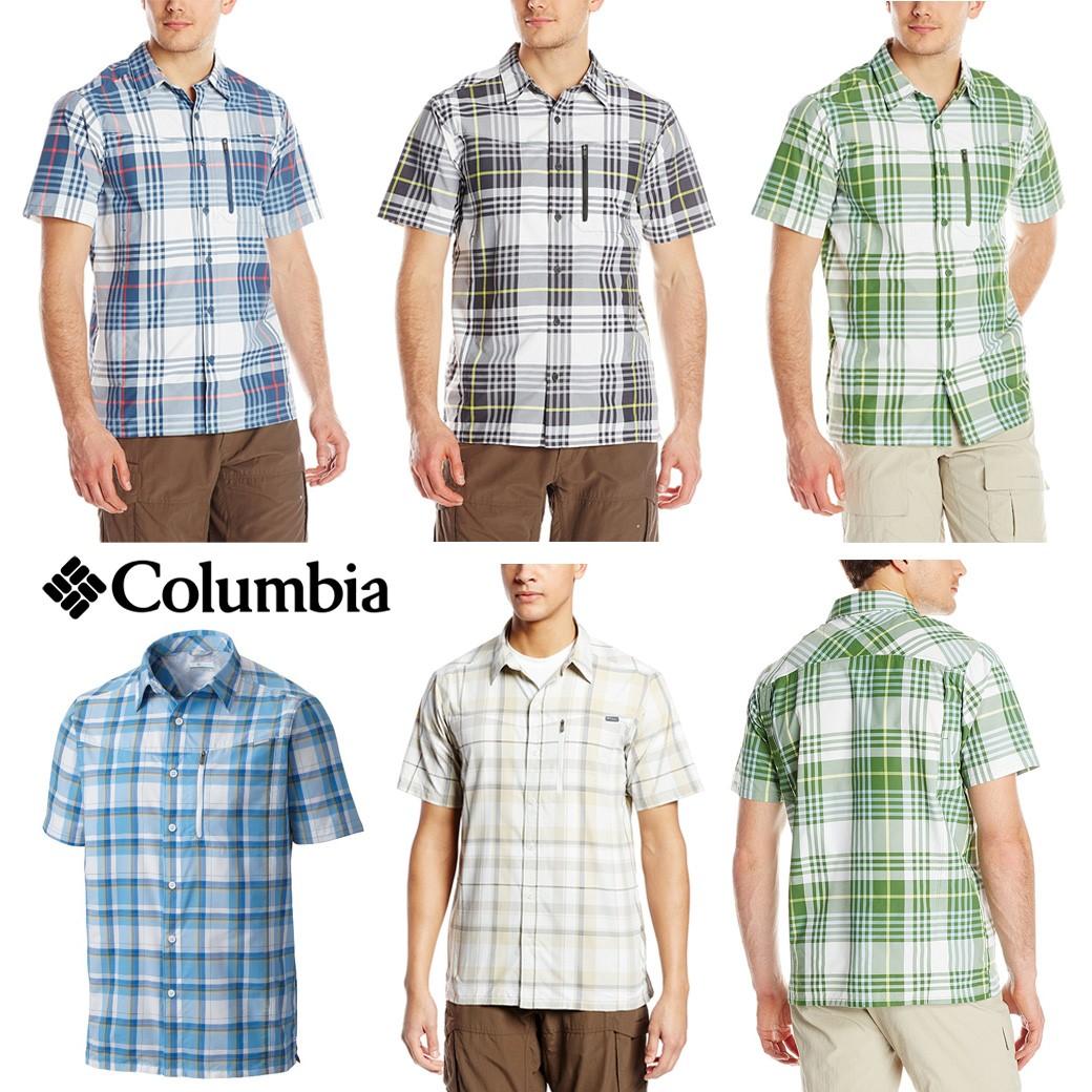 Columbia Men's Silver Ridge Zip Pocket & Omni wick SS Shirt