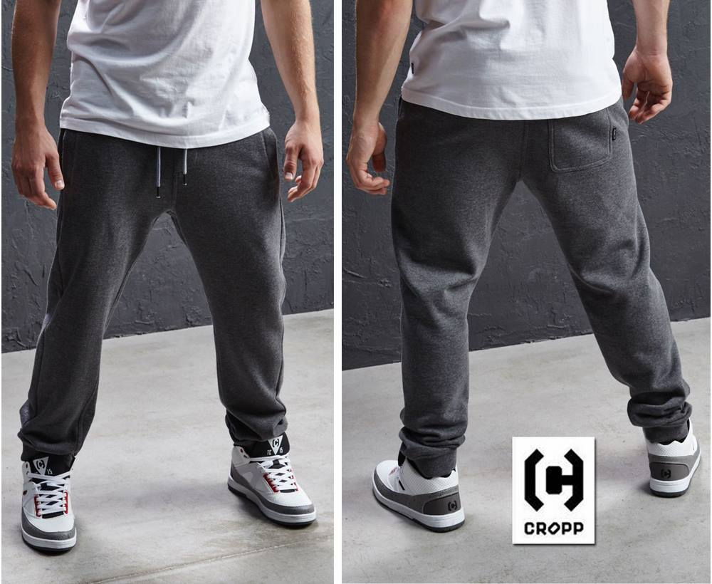 CROPP MEN'S SWEATPANTS - DARK GREY