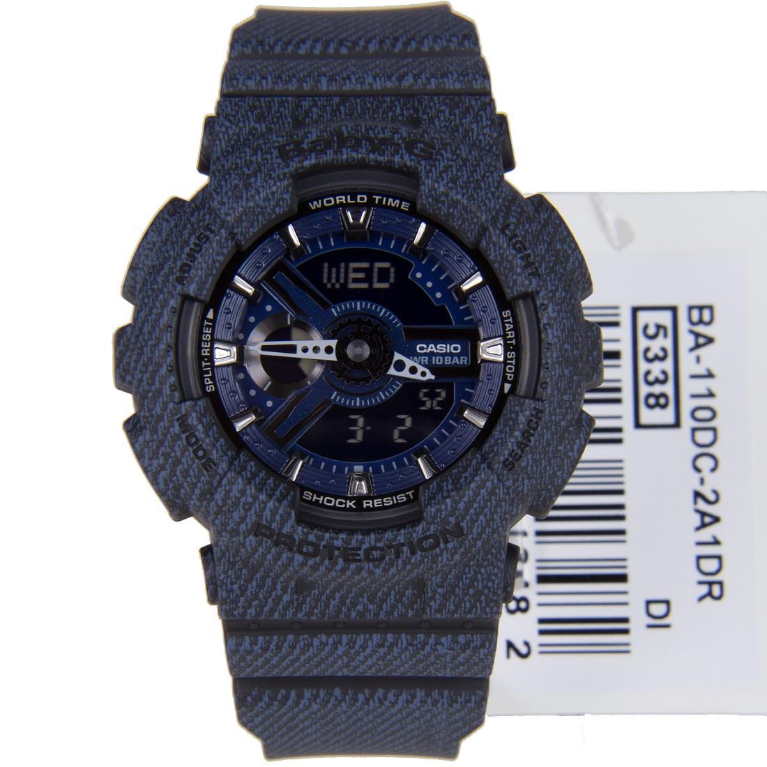 นาฬิกาข้อมือผู้หญิง Casio BABY-G รุ่น BA-110DC-2A1