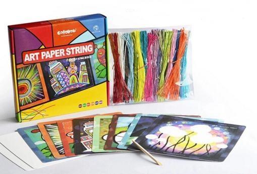 Coloyou DIY Art Paper String ศิลปะเชือกกระดาษ