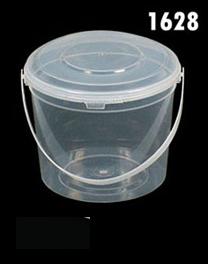 โหลเซฟตี้ซิล 500 ml ตัวฝาหูหิ้วสีใส 1628 (1*50)