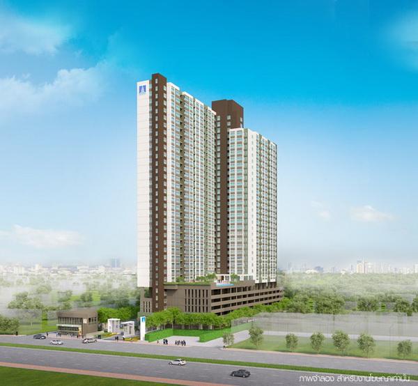รหัสทรัพย์ 30278 ขายคอนโด Lumpini Place Suksawat - Rama 2 ( ลุมพินี เพลส สุขสวัสดิ์ - พระราม2 ) ห้องสตูดิโอ 1 ห้องน้ำ