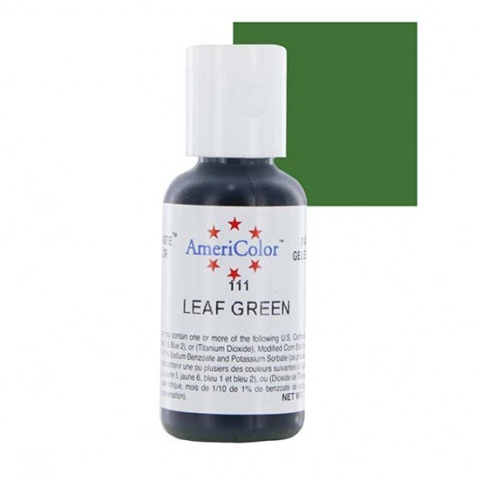 Ameri Color Leaf Green Soft Gel Paste 0.75 oz