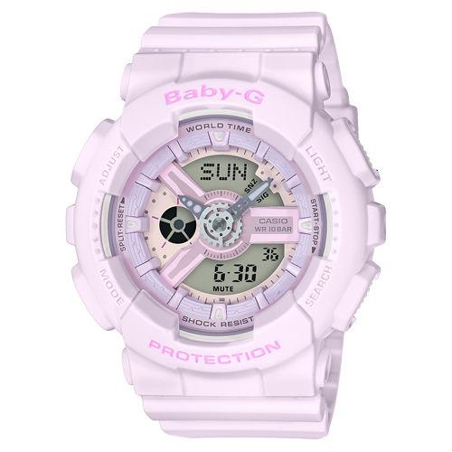 นาฬิกาผู้หญิง CASIO BABY-G รุ่น BA-110-4A2 Analog Digital Ladies Watch ราคา