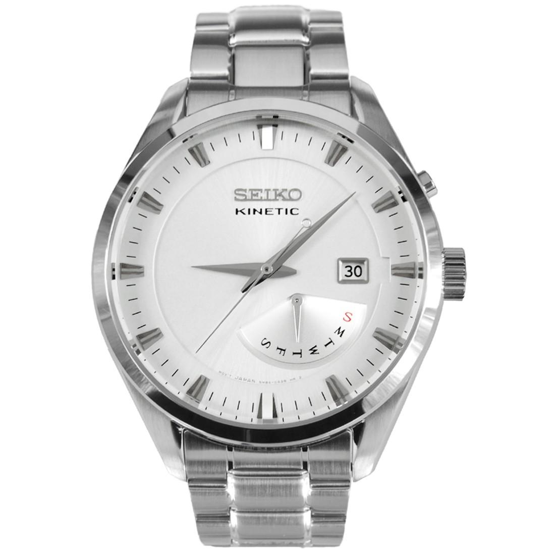 นาฬิกาผู้ชาย Seiko Kinetic รุ่น SRN043P1 Kinetic Men's Watch