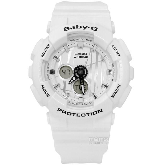 นาฬิกาผู้หญิง CASIO Baby-G Scratched Pattern series รุ่น BA-120SP-7A