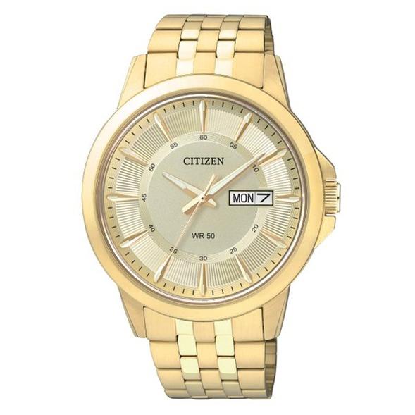 Citizen Men's BF2013-56P Gold-Tone Stainless Steel Bracelet Watch