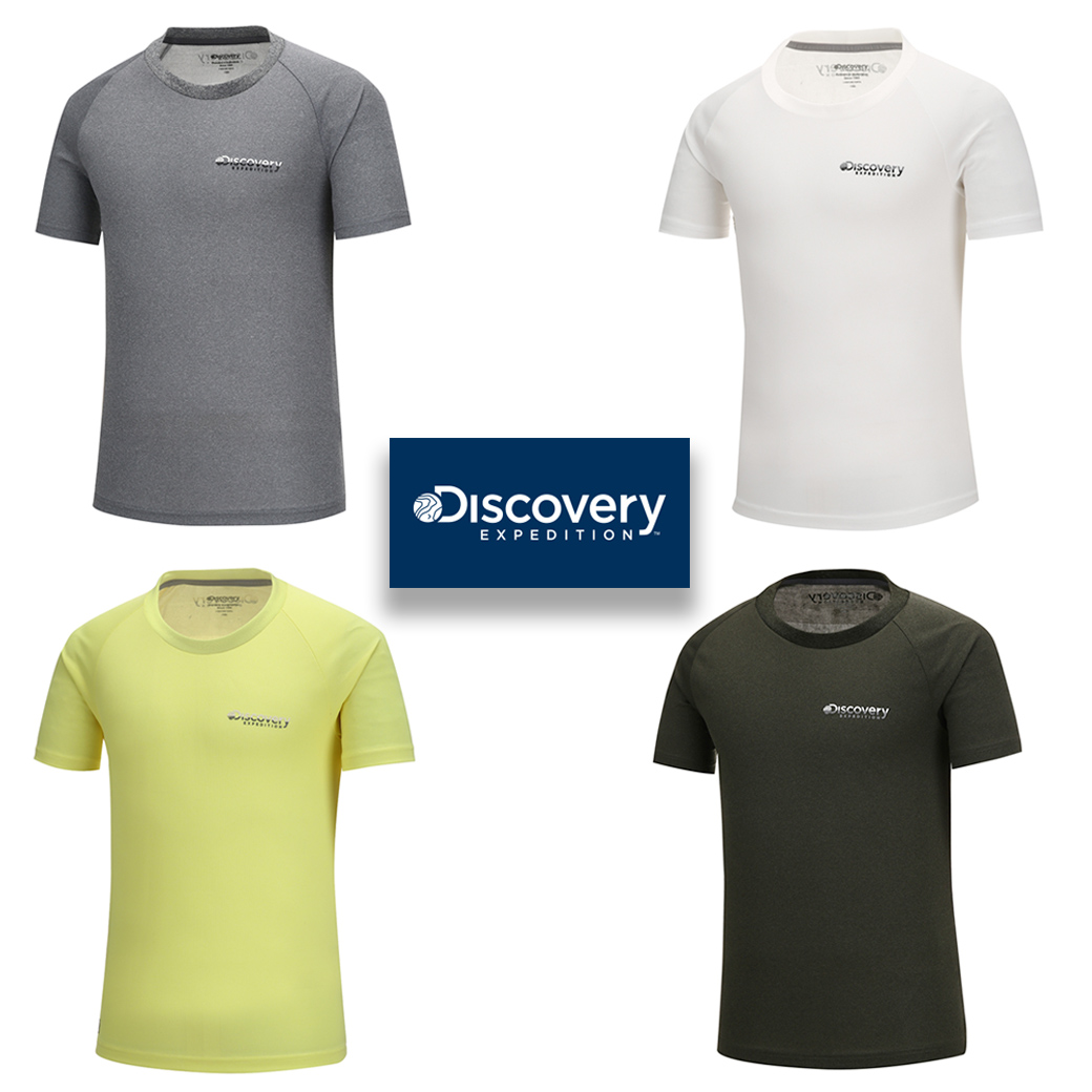 Discovery Expedition Men's Premium Supersolf Tee
