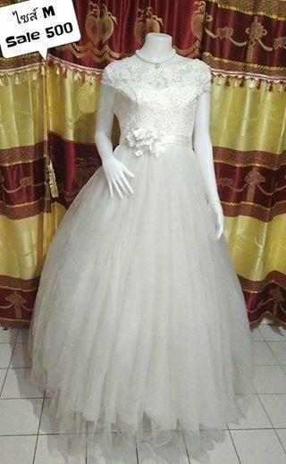 เช่าชุดเจ้าสาว ชุดแต่งงาน ชุดถ่ายพรี ราคาถูก 400-800บาท 094-920-9400