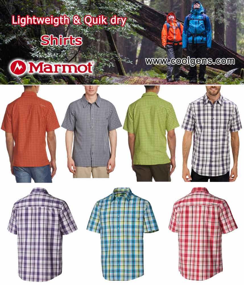 Marmot Ligthweight & Quik dry Shirts ( เบาสบาย แห้งไว )