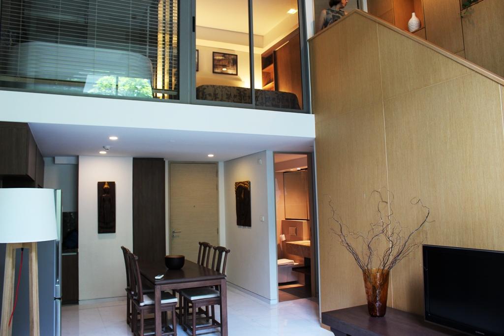 ให้เช่าคอนโดไซมิส เทอร์ตี้ ไนน์ The Siamese Thirty-Nine Condominium Sukumvit soi 39 ห้อง Duplex 1ห้องนอน