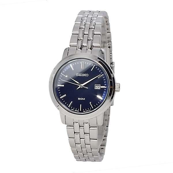 นาฬิกาผู้หญิง SEIKO Neo Classic Navy Blue Dial SUR829P1