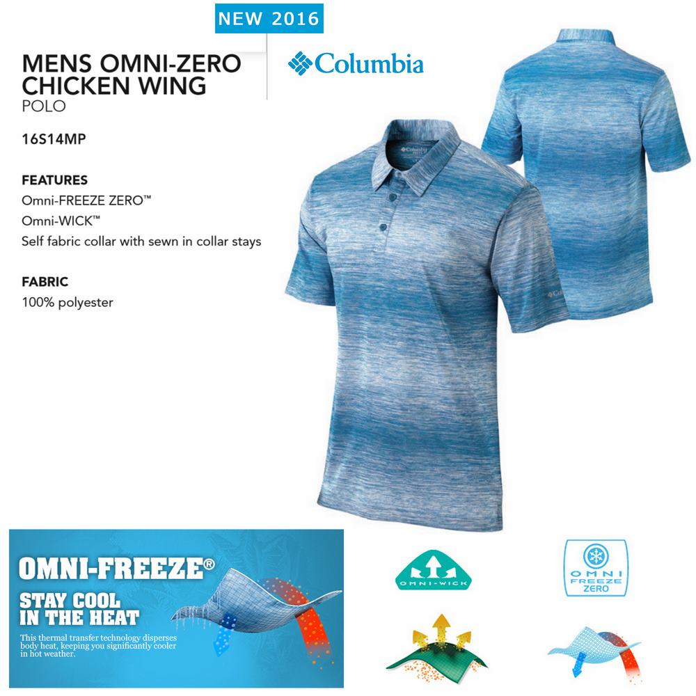 Columbia Chicken Wing Polo