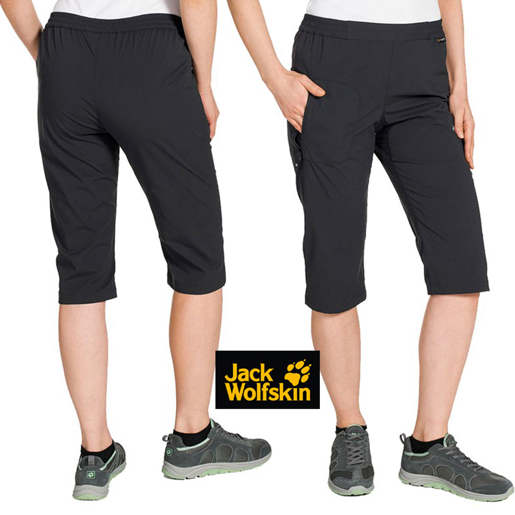 Jack Wolfskins Women's Accelerate 3/4 Pant