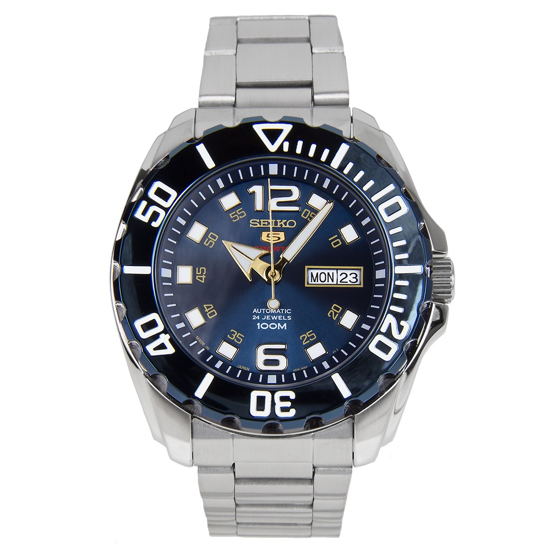 นาฬิกาข้อมือ Seiko 5 Sports Automatic (New Baby Monster) SRPB37J1 Made in Japan