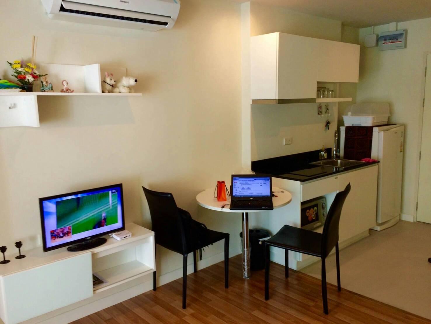 ให้เช่าคอนโด วี คอนโด เอกมัย – รามอินทรา WE CONDO Ekkamai-Ramintra ห้อง1 bedroom 1 ห้องน้ำ