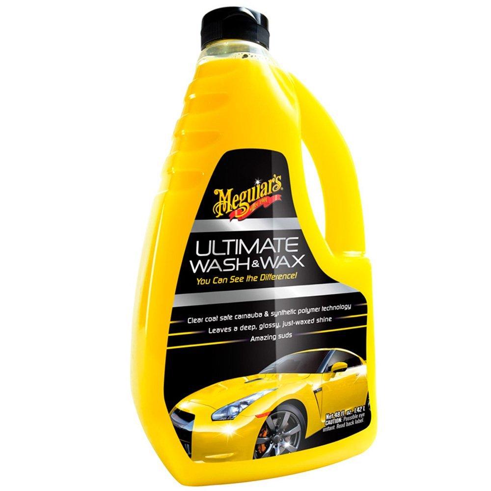 Meguiar's Ultimate Wash & Wax แชมพูอัลทิเมท วอช & แว็กซ์