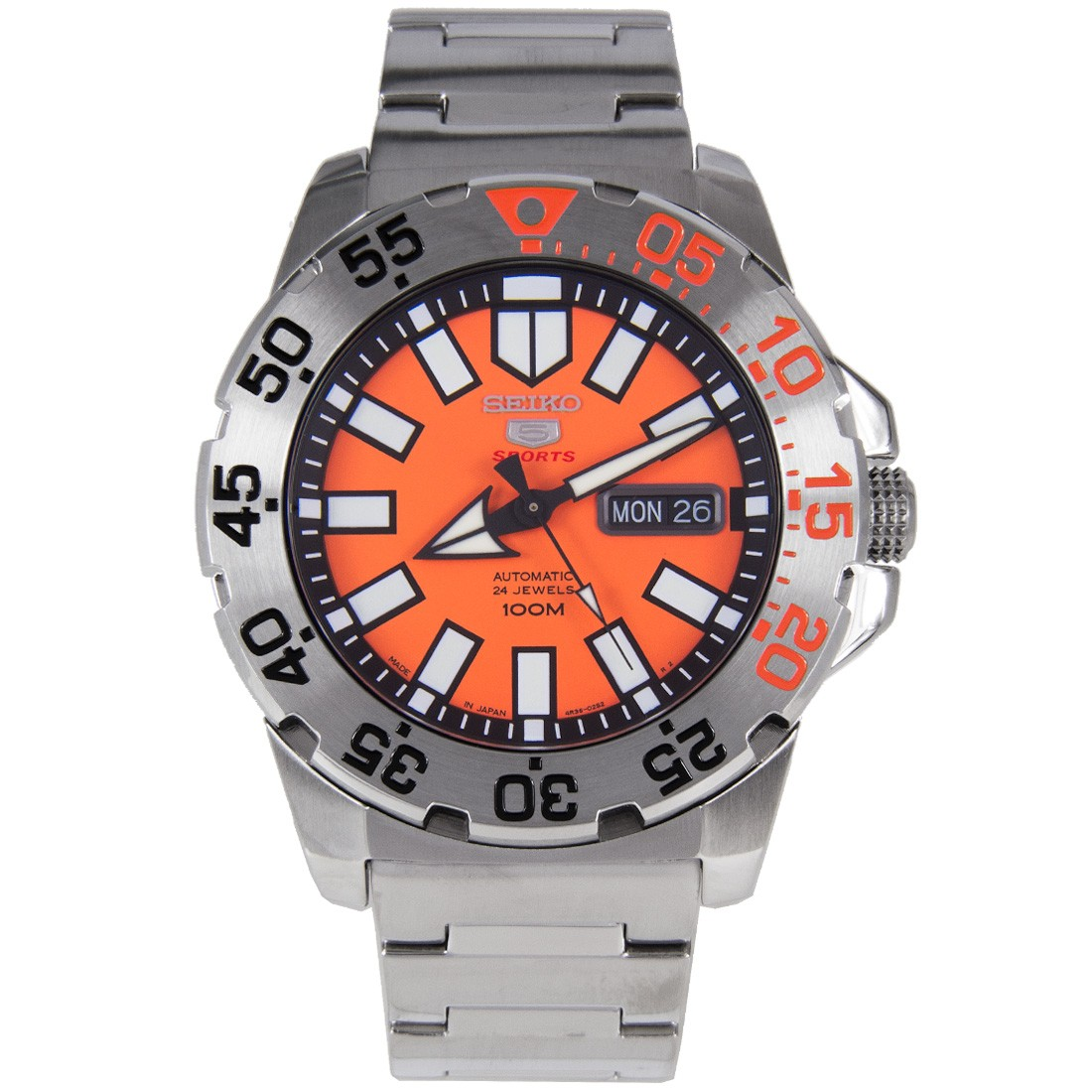 Seiko New Mini Monster Automatic (Made in Japan) รุ่น SRP483J1