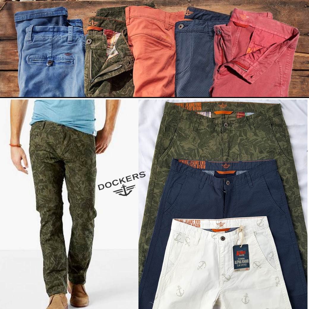 Dockers Alpha Stretch Printed Pant