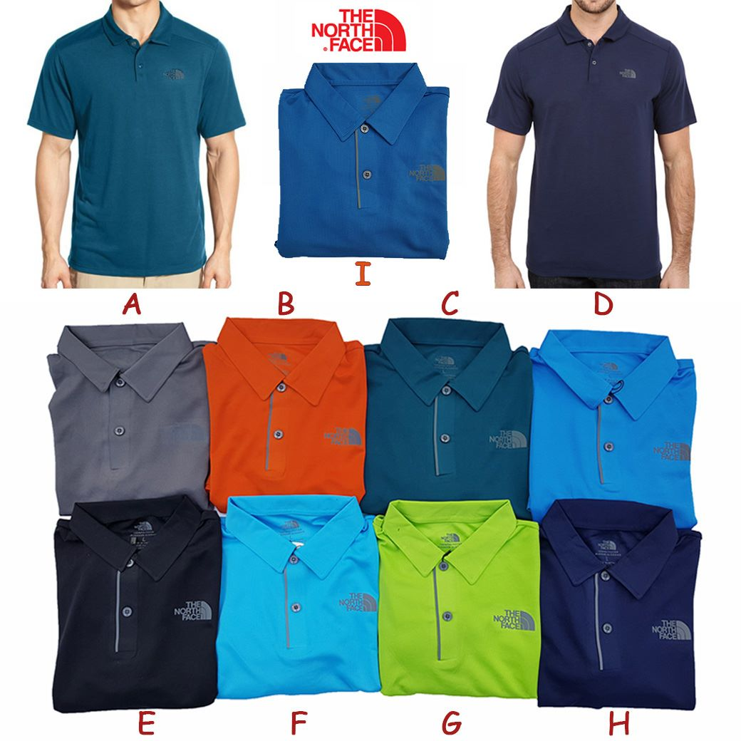 The Northface Flashdry Polo ( New Colors )