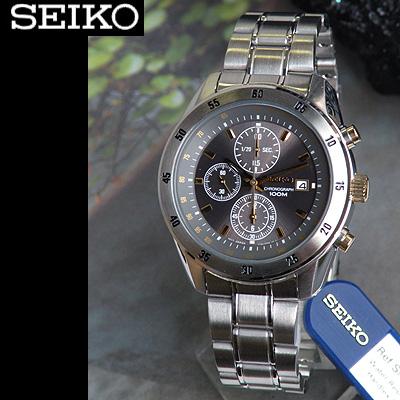 นาฬิกา Seiko Gents Chronograph (ระบบควอทซ์) รุ่น SNDC51P1