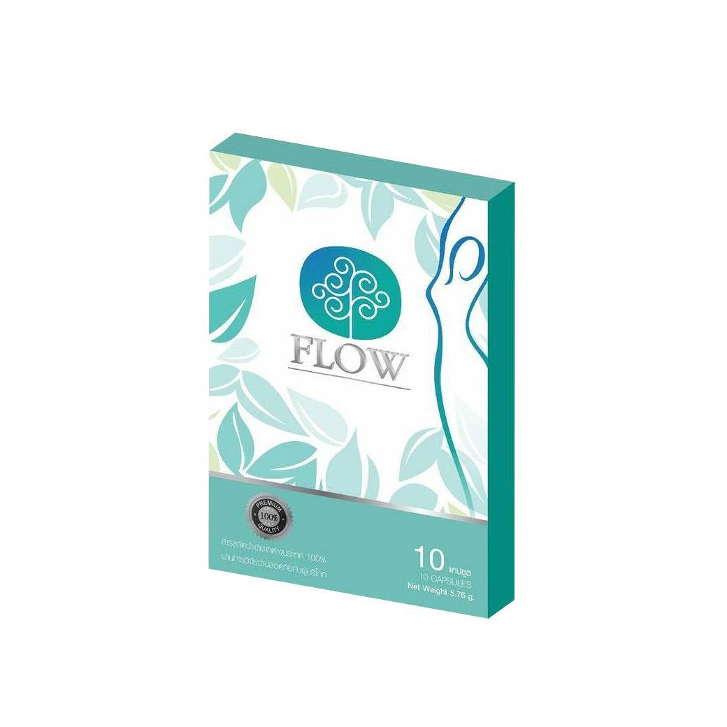 Flow โฟลว์ บรรจุ 10 แคปซูล ราคา 295 บาท ส่งฟรี