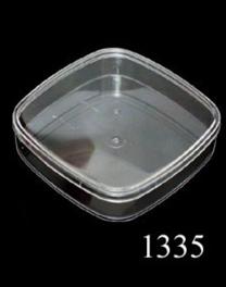 กล่องเหลี่ยมมุมโค้งเล็ก สีสภาพวัตถุดิบ 1335