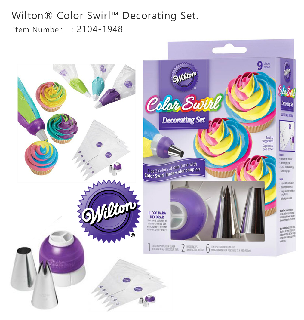 Wilton Color Swirl Decorating Set (2104-1948)