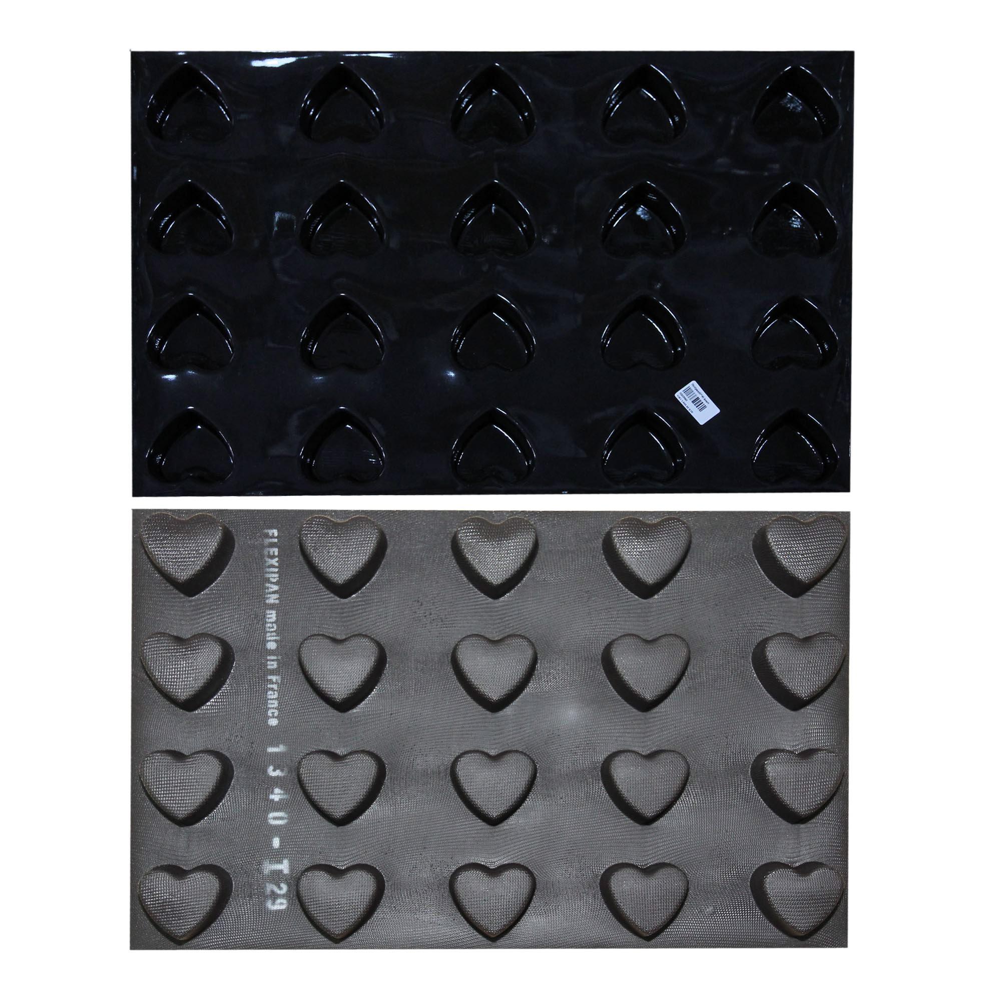 Demarle flexipan 60x40 heart