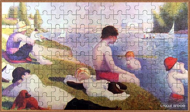 จิ๊กซอว์ ภาพศิลป์ระดับโลก Jigsaw Puzzle World class artists - Bathers at Asnières