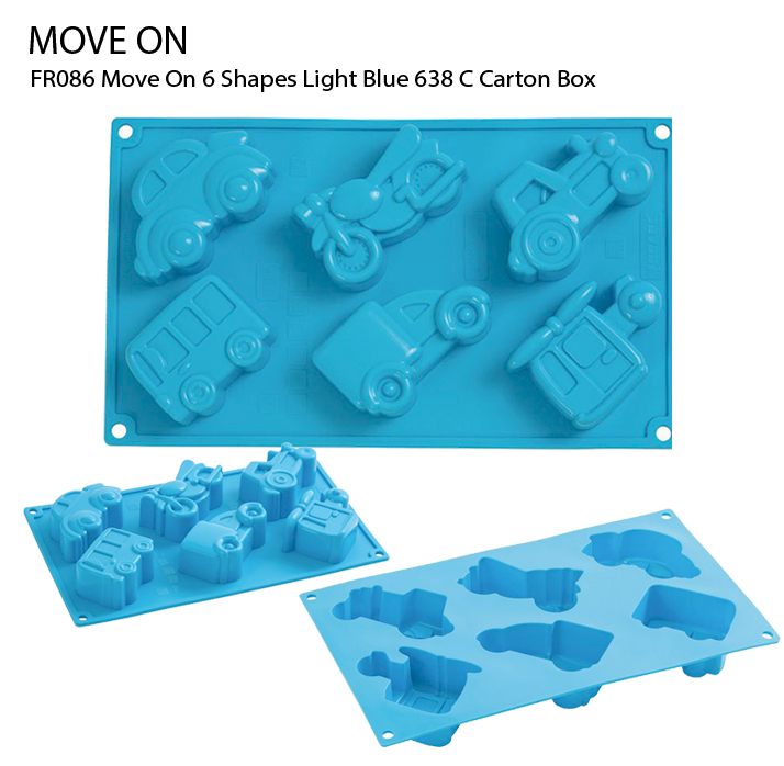 FR086 Move On 6 Shapes Light Blue 638 C Carton Box