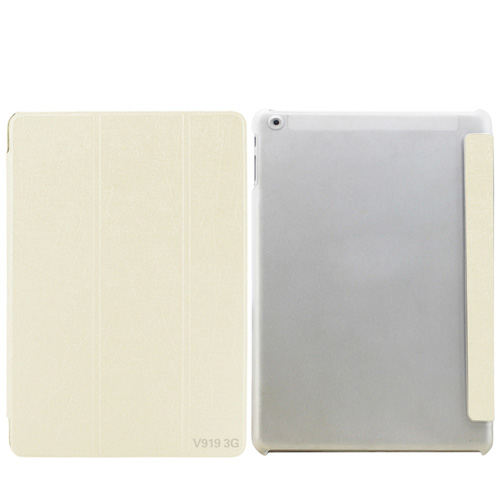 เคส ONDA V919 3G ฝาปิดตรงรุ่น สวยหรู สีขาว