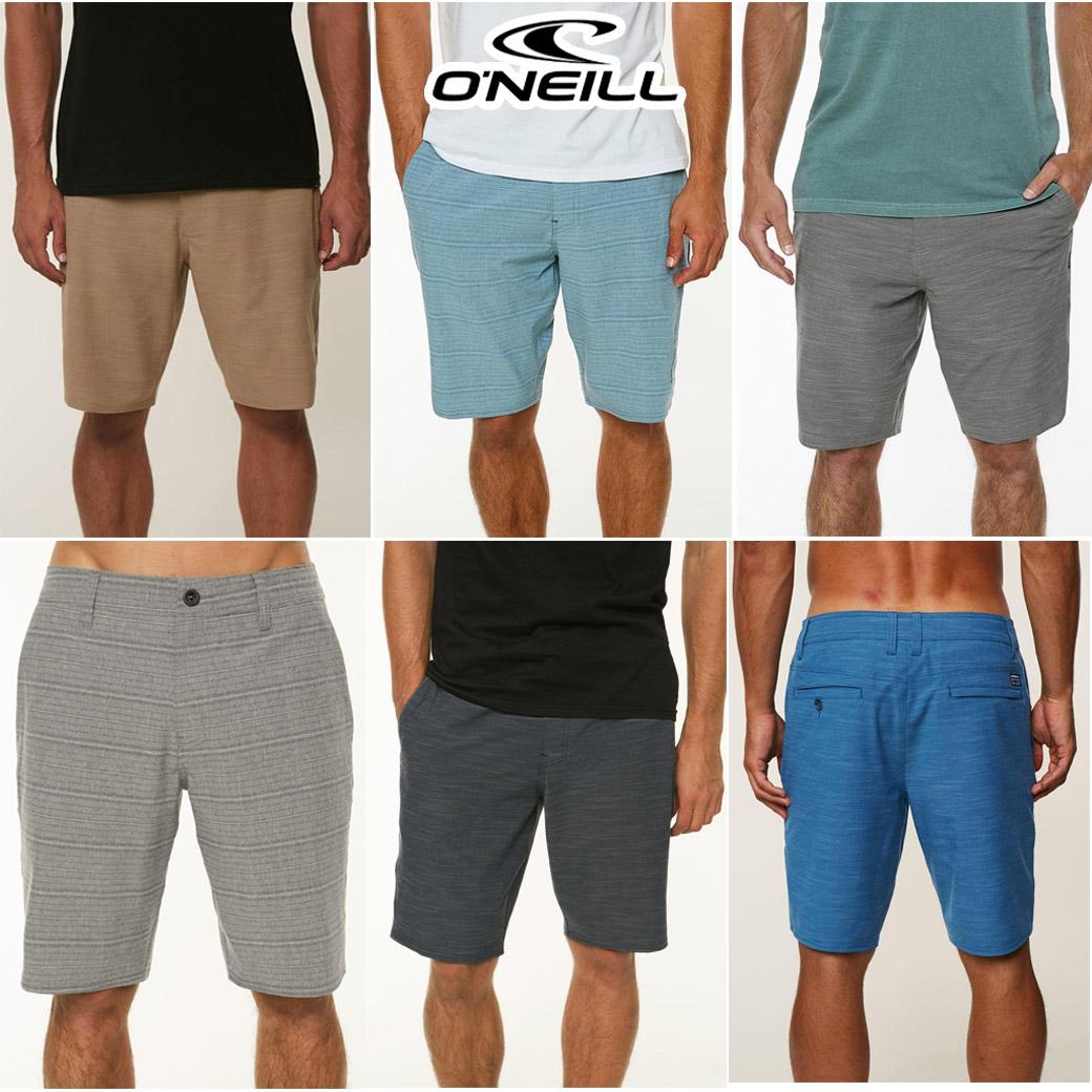 O'Neill Locked Slub & Locked Stripe Hybrid Shorts