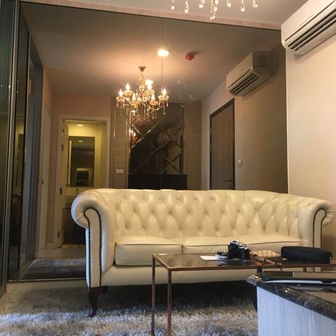 รหัสทรัพย์ 22212 ให้เช่าคอนโด เมโทรลักซ์ เอกมัย-พระราม 4 / Metro Luxe Ekkamai-Rama 4 ห้อง 1 ห้องนอน 1 ห้องน้ำ อาคาร A ชั้น 8 พื้นที่ 30 ตรม