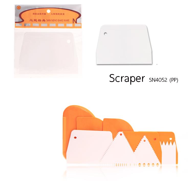 Scraper SN4052 (PP) 13.6*9.7*0.5 cm