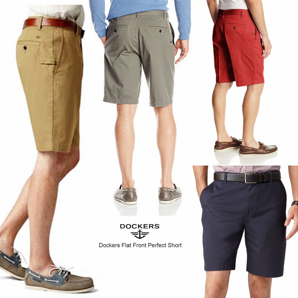 Dockers Flat Front Perfect Short