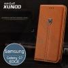 เคสหนังแท้ XUNDD Noble Series Wallet - เคสหนังสำหรับ Samsung Galaxy S7 edge