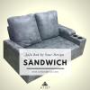 โซฟาเบด ฟองน้ำแน่น 180cm รุ่น Sandwich