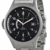 Hamilton Men's H77615133 Navy GMT Black Dial Watch
